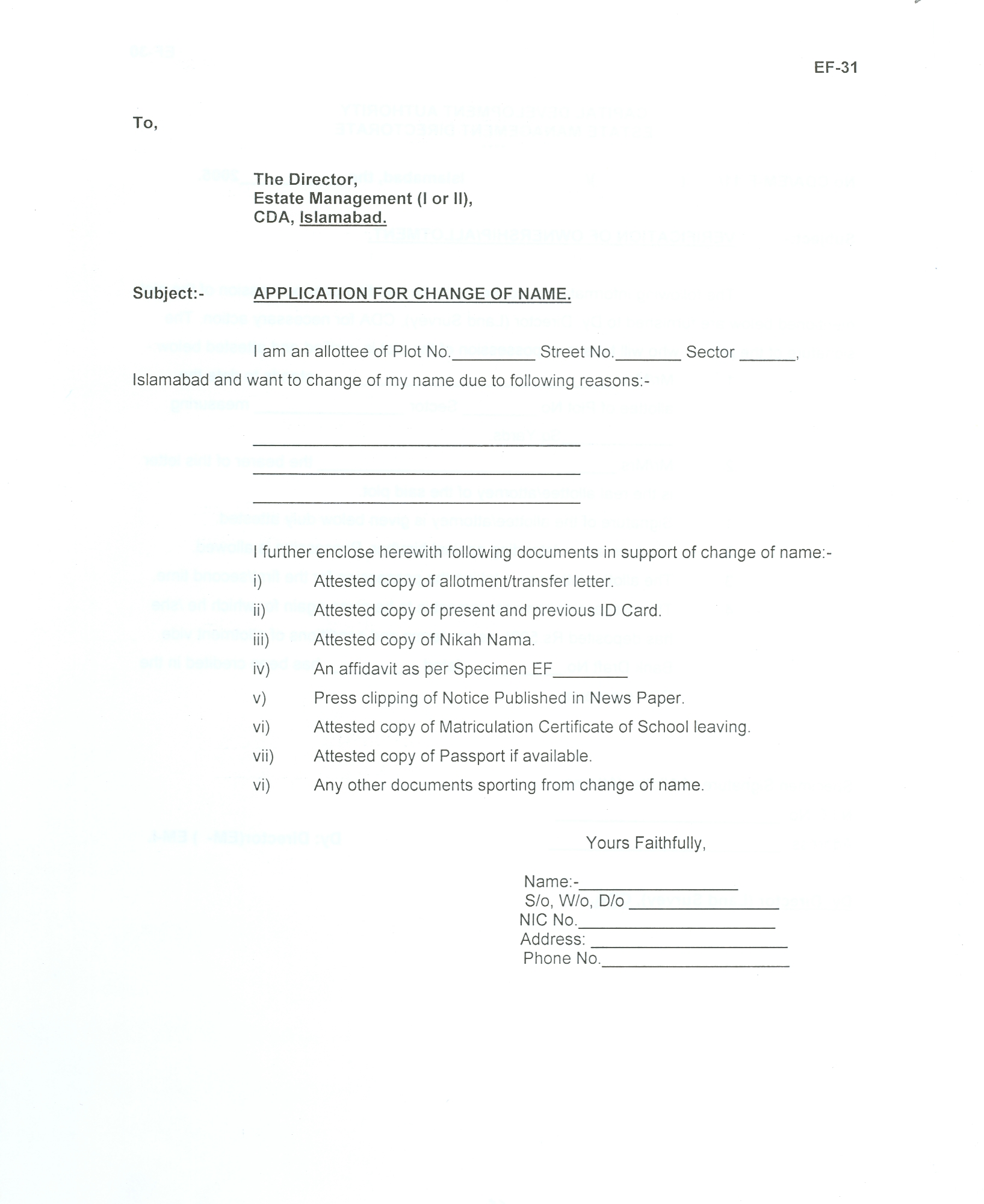 Capital development authority application for change of name spiritdancerdesigns