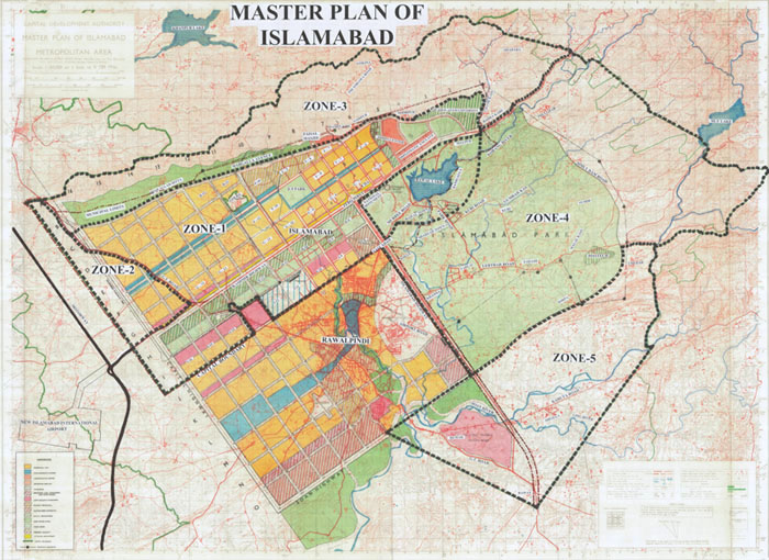 Capital development authority islamabad captial territory map gumiabroncs Image collections